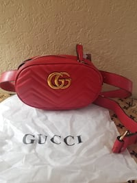 Red Gucci Fanny pack  Davie, 33314