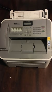gray and white MFC all-in-one printer