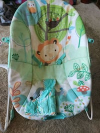 baby's green and blue bouncer Surrey, V3W 2R4