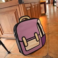 5 Brand new 3D Jump Style Cartoon School Bags Centreville