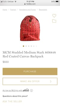 Mcm backpack Lincoln, 68502