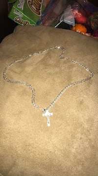 Jesus necklace (silver