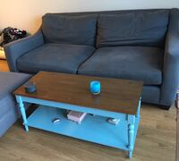 Free Couch, ottoman and coffee table. Available for pick up 1/25-1/26 Sausalito Sausalito, 94965