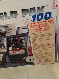 Lincoln weld-pac 100. MiG welder.  New in the box