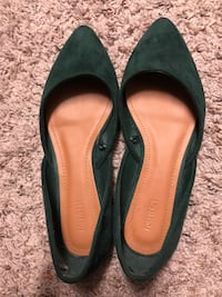 Forever 21 forest green flats size 6.5 Lorton, 22079
