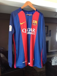 FCB Barcelona Messi Nike long sleeves jersey Vaughan, L4J 9G7