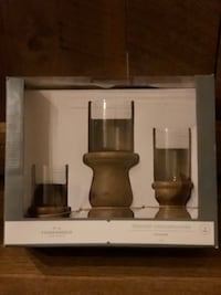 Turned Solid Wood Candle Holders/ set of three Germantown, 20874