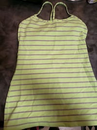 Lu lu lemon tank top size 6