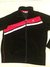 black and red Adidas zip-up jacket Mississauga, L5L 1H2