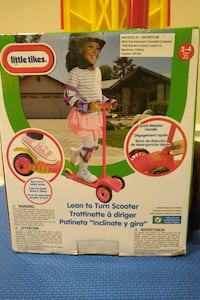 Little Tikes Learn to Turn Scooter NEW IN BOX Markham, L3T 7E3