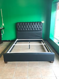 Furniture Sale Upholstery Queen Bed In Leather WE FINANCE WE DELIVER Providence