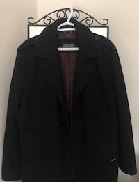 Men's GUESS Black Coat Markham, L6B 0R9