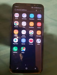 Samsung Galaxy s8 lake new good condition