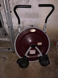 AB CIRCLE PRO WORKOUT MACHINE $40 OR BEST OFFER