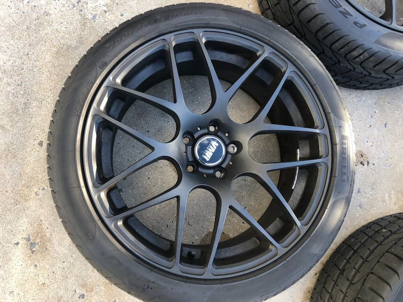 "RIMS ONLY 20"" VMR V710 RIMS 4"