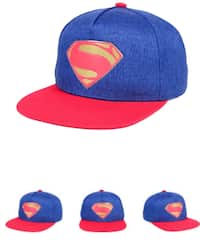 f02829b5ce0603 New DC Comics Justice League 2 Toned Marled Snapback Cap One Size