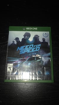 Xbox one need for speed game  Dover, 19901