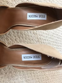 Suede Steve Madden Shoes  Ottawa, K4A 0X2