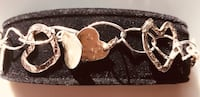 Hand crafted by artist silver heart bracelet Silver Spring, 20904