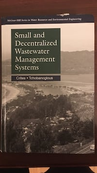 Small and Decentralized Wastewater Management Systems book Ottawa, K1N 8J6
