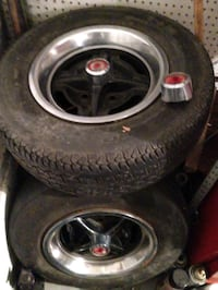 Ford - Steel Rally Wheels- 1974-1978 Youngstown