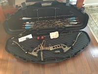 Compound Bow and Arrows LEFT HANDED