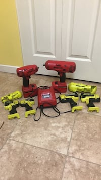 Snap on cordless impacts 3/8 and 1/2 Abbotsford, V3G 1L9
