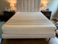 California King Sapira Hybrid Mattress by Leesa Less than a year old! Agoura Hills, 91377