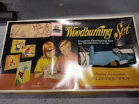 Vintage wood burning set from the 60s Lincoln Park, 48146
