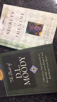 Christian Devotional books  $2/bk Ashburn, 20147