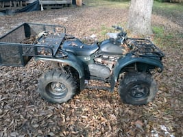 Yamaha 4×4 four wheeler. It will run but needs carb work. 500$ o.b.o