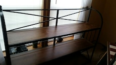 Wrought Iron Wood Stand