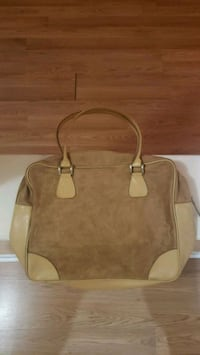 Estee Lauder Work School Casual Tan Beige Bag