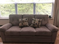 Sofa and loveseat with matching pillows  Gaithersburg, 20877