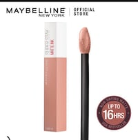 Maybelline Superstay LipStick Boon Lay and Pioneer, 649886