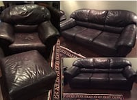 Leather Couch Set - 4 Pieces Vaughan, L4J 0G1