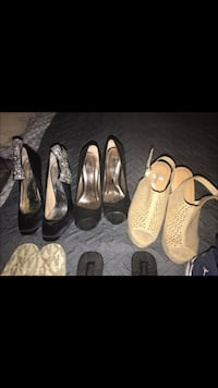 women's three pairs of shoes Las Vegas, 89121