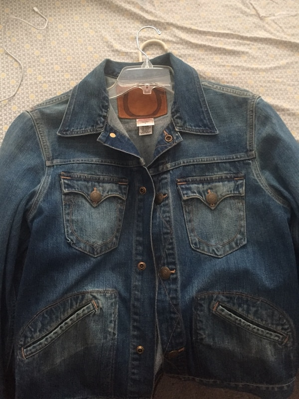 09a9581ed Used True religion jean jacket size m for sale in New York - letgo