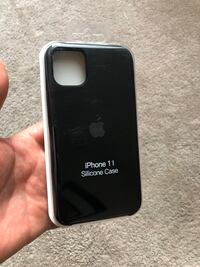 iPhone 11 Silicone Case with Logo