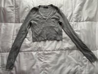 Brandy Melville Cropped Long sleeve