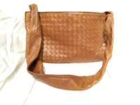 Bottega Veneta Intrecciatio Leather Woven Flat Clutch TORONTO
