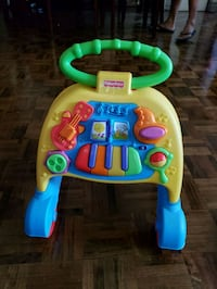 baby's yellow and green activity walker Toronto, M2R 1Y1