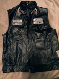 Sons of Anarchy faux leather vest Bethlehem
