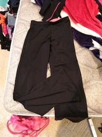 Black/Peach yoga type pants Mansfield, 44903