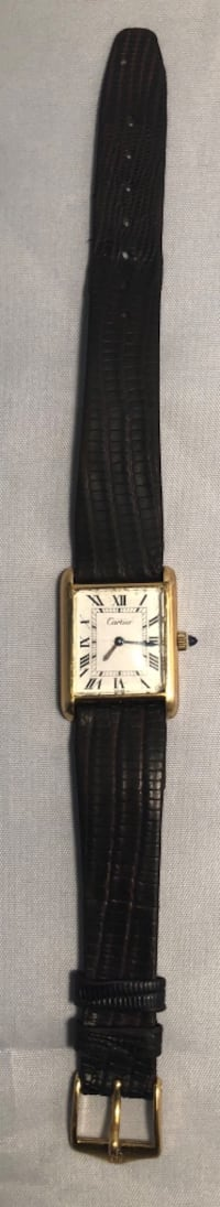 Vintage Cartier Watch 18k Gold Electroplated 51-51111 Fort Washington, 20744