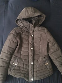 brown zip-up bubble jacket Mississauga, L5E 2G8