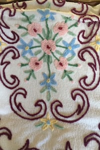 Vintage Chenille Bedspread -double bed Havertown, 19083
