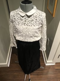 The kooples lace top - small Vancouver, V5R 0B2