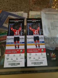 Ice dogs tickets to Thursdays sold out game