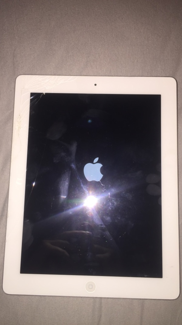 Hvit ipad 4 16gb
